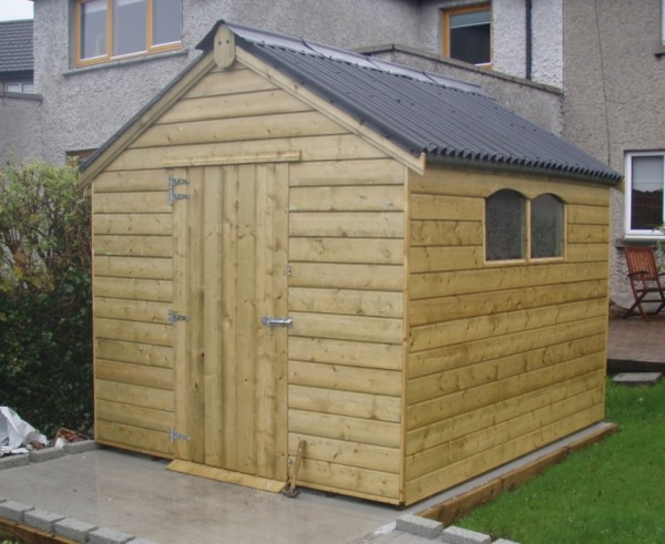 6ft x 4ft garden county shed